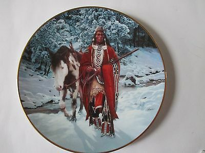 The Winter of 41 Decorative Porcelain Plate From The Hamilton Collection.