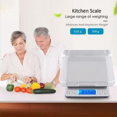 Digital Pocket Kitchen Scale 500g/0.01g Electronic Food Jewelry Weight Scale New