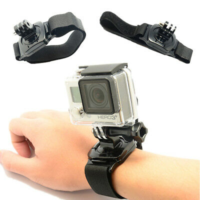 Sports Waterproof Arm Band Belt Wrist 360° For Gopro Hero 4/3+/3/2 Accessory Pop
