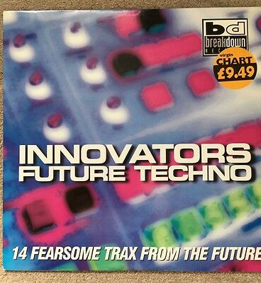 Innovators Future Techno - Various 2xLP (1995 techno)