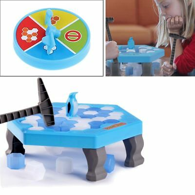 Penguin Trap Icebreaker Kid Child Puzzle Desktop Knock Ice Block Family Game