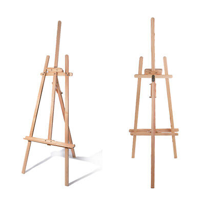 5ft 1.5M PINE WOOD WOODEN STUDIO EASEL ARTIST ART CRAFT DISPLAY PAINTING STAND