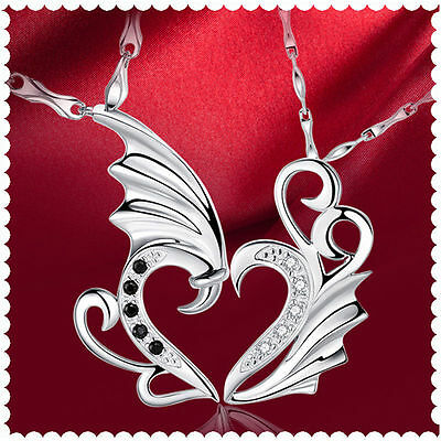 Angel_&_Devil ~ Wings ~  Necklace  --- (Great_Christmas_Gift)