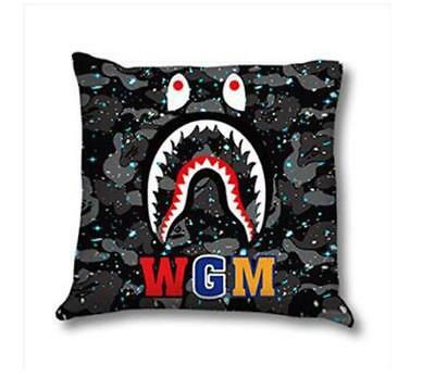 A1 Fashion Bape Car a bathing Luminous Cotton Shark Jaw Top Soft Ape Pillows
