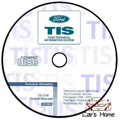 Manuale Officina Ford Tis My 07/2003 Workshop Manual Service Cd Dvd