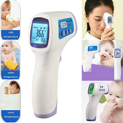 Non-Contact Baby/Adult/Pet LCD Medical Infrared Digital Forehead Thermometer