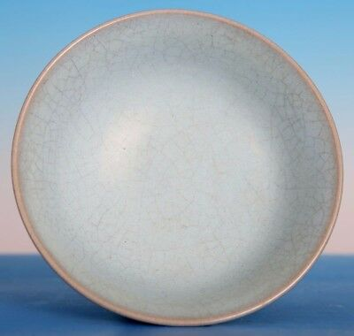 Fine Rare Old Chinese Excellent Craftwork Ru Kiln Celadon Porcelain Bowl ZS13