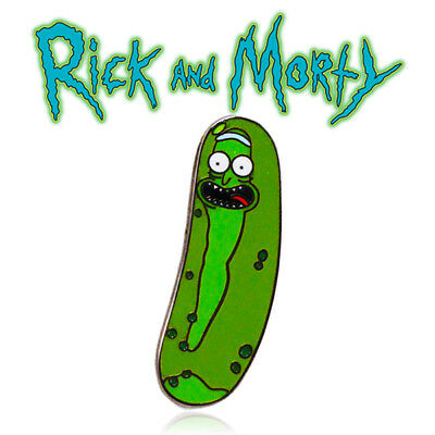 Pickle Rick - Rick and Morty TV Show Enamel Pin Badge Perfect Size - NEW
