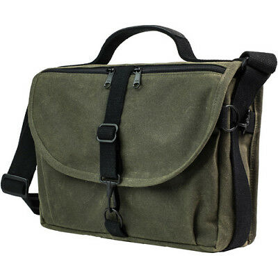 9794d51e29 New Domke F-803 Ruggedwear Messenger Bag Military Green Water-Resistant  Canvas