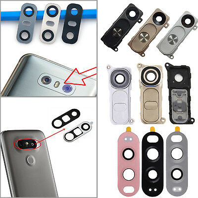 Rear Back Camera Glass Lens Lid Cover Parts + Adhesive For LG V20 G6 G5 G4 G3