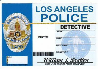 Detective of Los Angeles Police Department Dienstausweis
