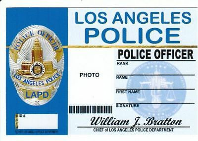 Police Officer of Los Angeles Police Department Dienstausweis