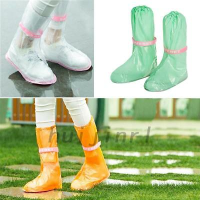 Cycling Shoe Cover PVC Overshoe For Outdoor Bicycle Rain Waterproof Windproof