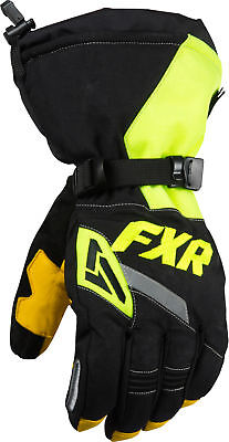 FXR CX Gloves Black/Hi-Vis