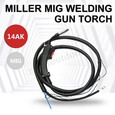 14AK Electric 2M 6.5FT Replacement Mig Torch Welder Complete Welding Gun Parts