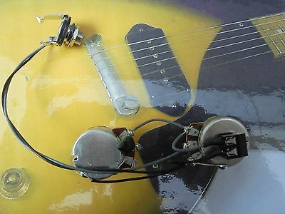 les paul SG or ES junior solderless guitar wiring harness