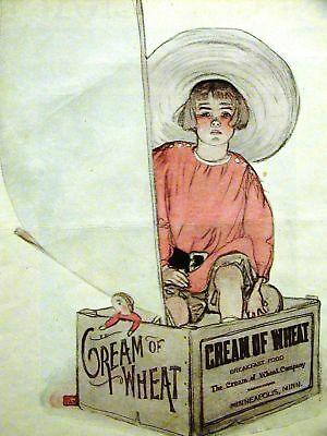 Wyman CREAM OF WHEAT Ad 1920 THE PIRATE Matted