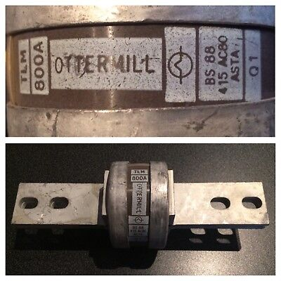 OTTERMILL - 800 Amp - TLM/800A - HRC Fuselinks - BS88 - 415V.
