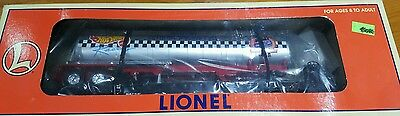 "LIONEL  O GAUGE COLLECTABLE 6-52130 HOT WHEELS FLATCAR WITH TANKER ""NEW"" nos."
