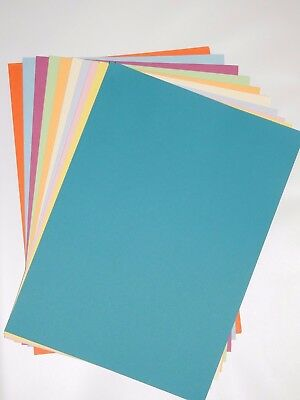 Rainbow Mixed Coloured Paper - 50 Sheets - 10 Colours - A4 - 80GSM - Acid Free