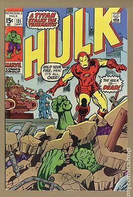 Incredible Hulk (1962-1999 1st Series) #131 FN- 5.5