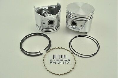 ITM Engine Components RY6134-030 Piston With Rings