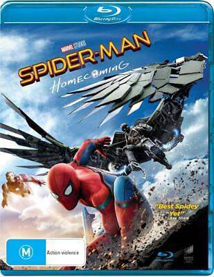 Spider-Man - Homecoming - Blu Ray Region A,B,C Free Shipping!