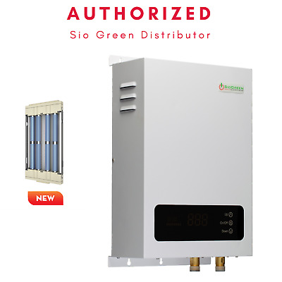 SioGreen iR Quartz Tankless Infrared Electric Water Heater. All Models.