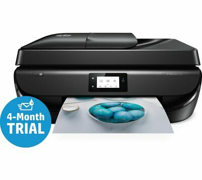 HP OfficeJet 5230 All-in-One Wireless Inkjet Printer with Fax - Currys