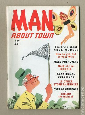 Man About Town (1939) #1 FN 6.0