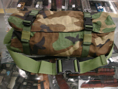 Woodland Molle  Waist Pack, Excellant Condition, Many Uses, Camo Usa Made