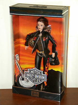 Harley Davidson Barbie #5 NRFB 2000 #29207 Collector Edition Caucasian