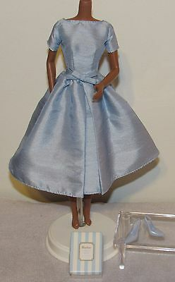 2001 Accessory Pack Blue Dress & Shoes Silkstone Barbie Fashion Outfit Clothing
