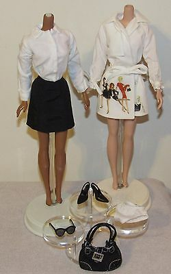 Trench Setter Silkstone Barbie Fashion Outfit Ensemble Only No Doll (#1)