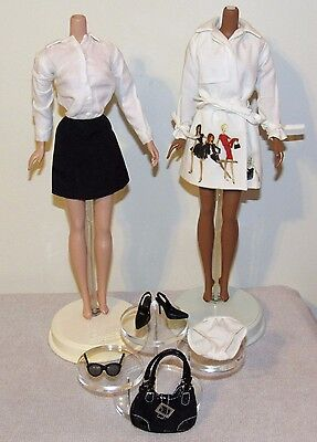 Trench Setter Silkstone Barbie Fashion Outfit Ensemble Only No Doll (#2)