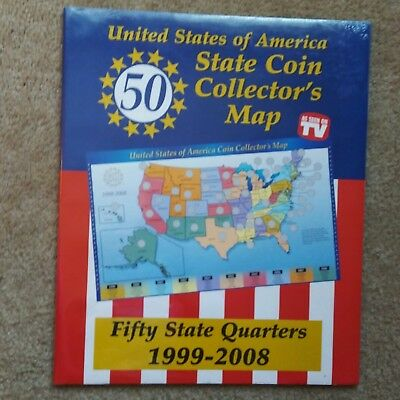 Filling A US Mint State Quarters Map With Proofs Coin Talk US - Us map for quarters