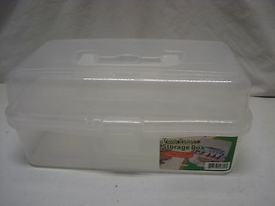 Two Tray Storage container
