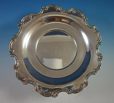"Louvre by Wallace Sterling Silver Sandwich Plate 11 3/4"" #4296-9 (#1796)"