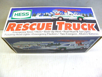 Hess 1994 Rescue Truck With Lights & Siren Brand New in Box NOS