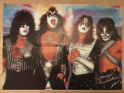 KISS - FROM SWEDEN SWEDISH POSTER MAGAZINE 1970s #9-1977