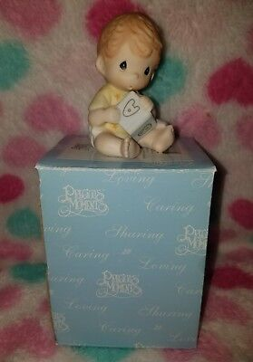 Easy as ABC Precious Moments figure baby #620023