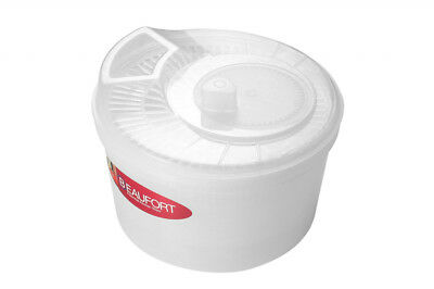 Beaufort Wash N Dry Salad Spinner Clear Brand New