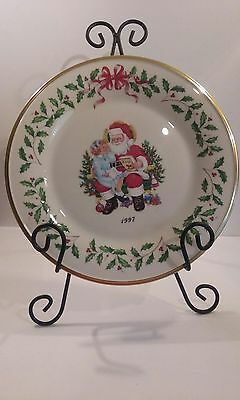 Lenox 1997 Annual Holiday Collector Christmas Plate 10.5""