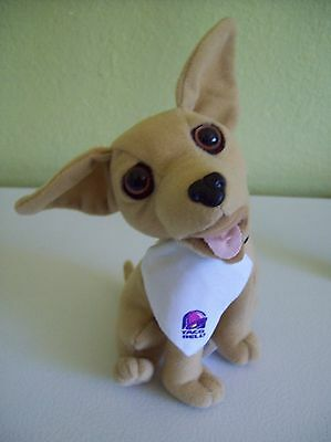 "Applause Taco Bell Chihuahua 6"" Talking Plush Dog ""You're Getting Hungry "" 66505"