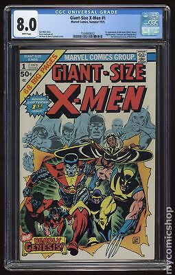 Giant Size X-Men (1975) #1 CGC 8.0 1554949002