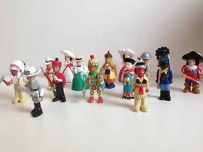 Genuine Mondo Figures - People Of The World - Large Lot Of Figures