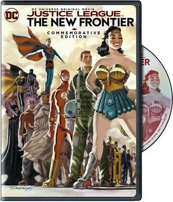 Justice League: New Frontier Commemorative Ed (REGION 1 DVD New)