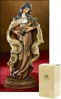 """St. Therese of Lisieux 6"""" Inch Statue NIB """"The Little Flower"""" Avalon Gallery NEW"""