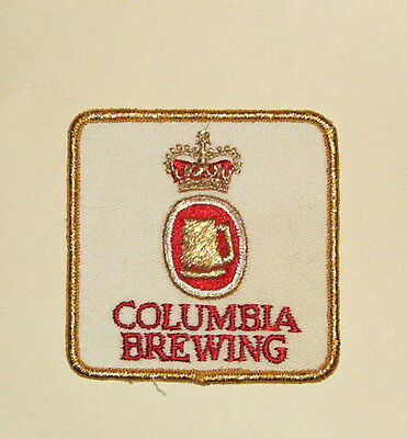 Vintage COLUMBIA BREWING  Patch