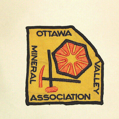 Vintage Mineral Association Patch - Ottawa Valley
